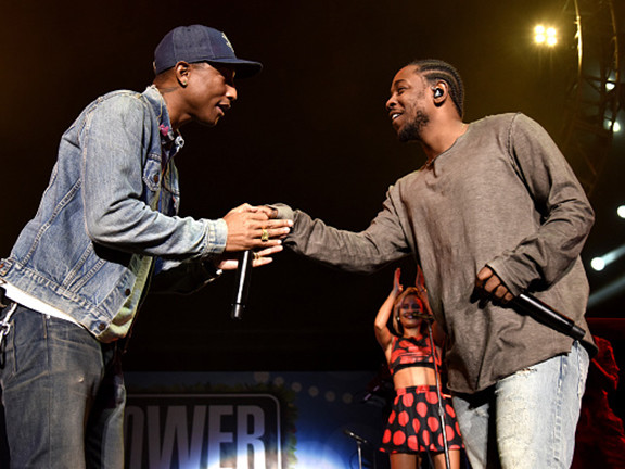 Kendrick Lamar Hops On Pharell Williams' Latest Release And It Sounds Nothing Short Of Iconic