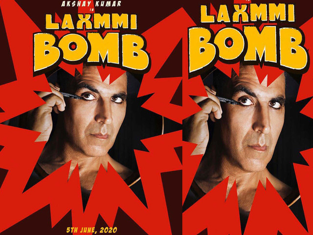 Akshay Kumar's first look in 'Laxmmi Bomb'