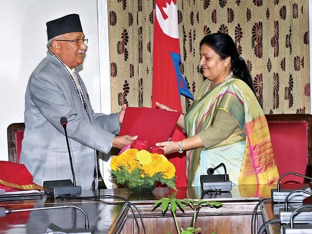 PM presents annual report of NSC to prez