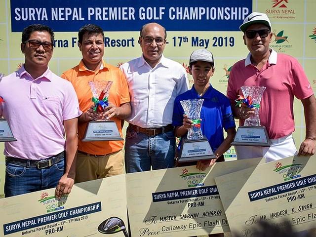 Acharya & Co claim Premier Pro-Am title