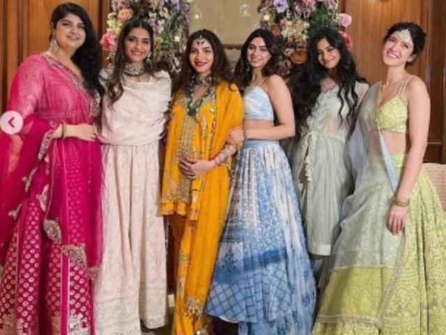 सोनम कपूर की बहन रिया की शादी के बाद कपूर परिवार में आने वाली है एक गुड न्यूज़, देखिए गोदभराई की तस्वीरें