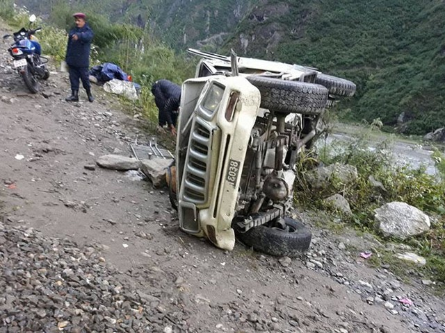One killed, two injured in Bajura jeep accident