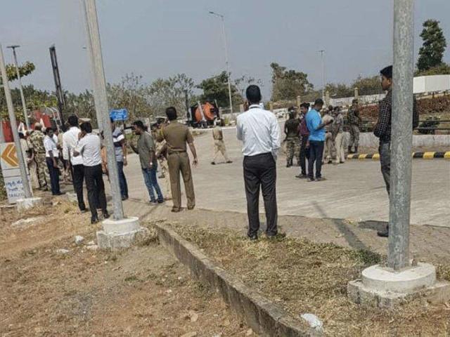 Mangalore Airport scare: Suspect's pics released