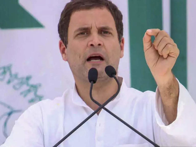 Paramilitary jawans killed in action will get 'martyr' status if Congress voted to power: Rahul Gandhi