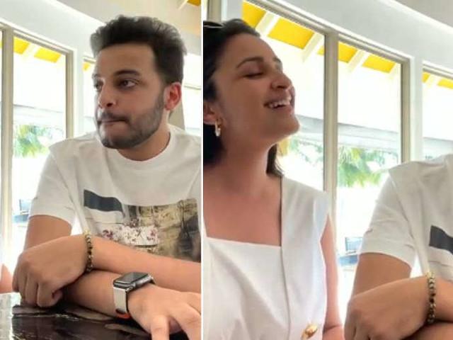 Video: Parineeti Chopra and her brother Shivang Chopra sing a duet