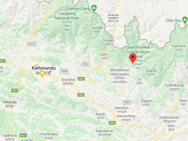 Boy killed in road accident in Dolakha
