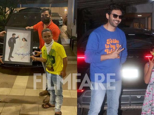 Kartik Aaryanâs fans make his paparazzi outing a priceless moment