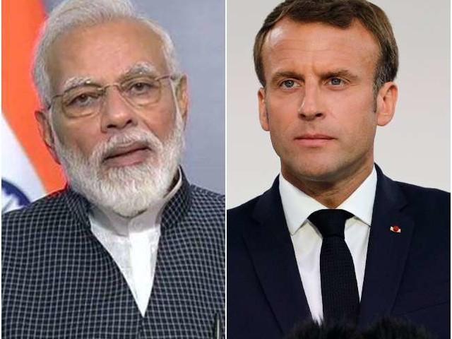 पीएम मोदी और फ्रांस के राष्ट्रपति इमैनुएल मैक्रों ने हिंद-प्रशांत सहयोग समेत अफगान मुद्दे पर की चर्चा