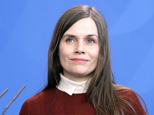 Iceland's leader won't be around to welcome Pence