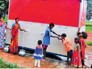 सौर ऊर्जा संयंत्र लगने से जिले के गांवों में दूर हुई बिजली व लाल पानी की समस्या