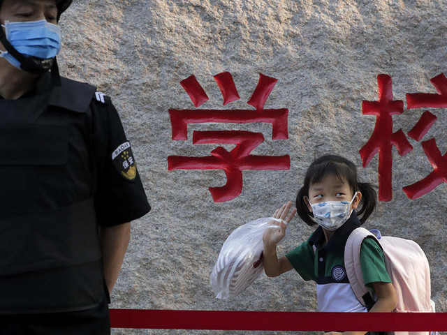 How China brought nearly 200 million students back to school amid Covid