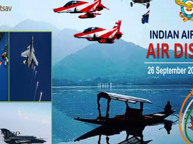 Srinagar air show makes a comeback after 14 years, captivates people