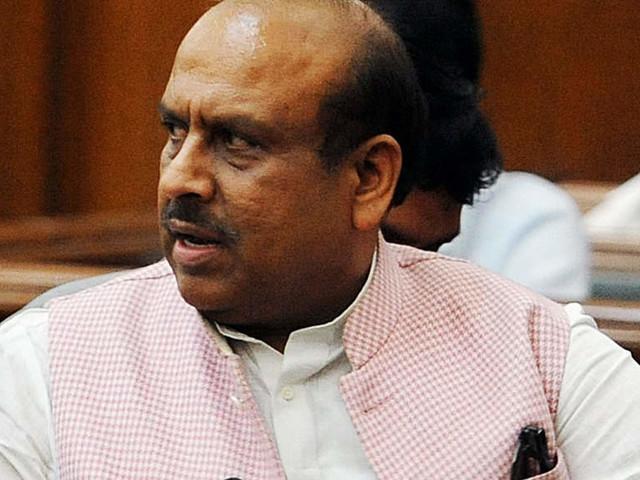BJP MLA Vijender Gupta suspended for using unparliamentary language