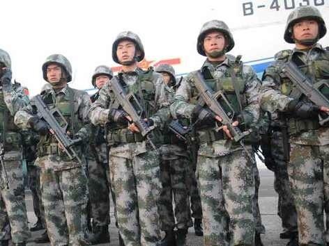 बॉर्डर पर अमेरिकी स्टाइल में अपनी ताकत बढ़ा रहा है चीन