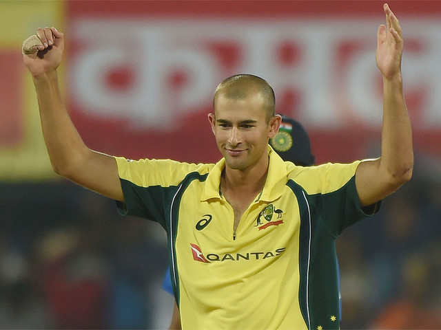 Agar out of remainder of India tour with broken finger
