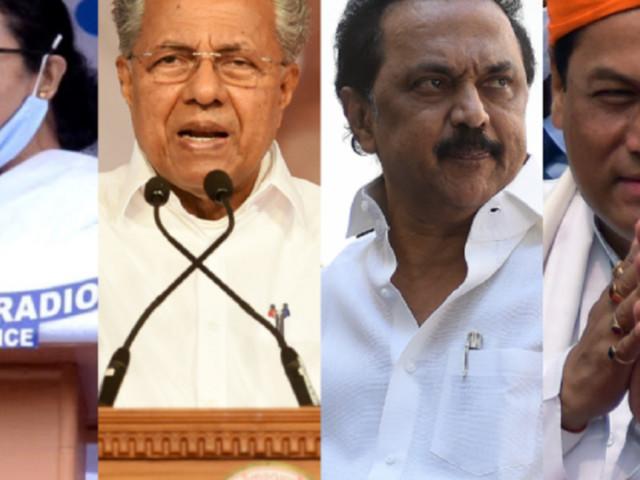 TMC, NDA, DMK set to win Bengal, Assam, Tamil Nadu: Opinion poll