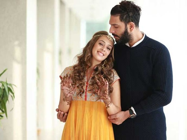 Yuvraj Singh and Hazel Keech expecting their first baby