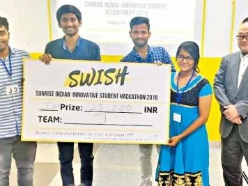 VNRVJIT students excel in SWISH