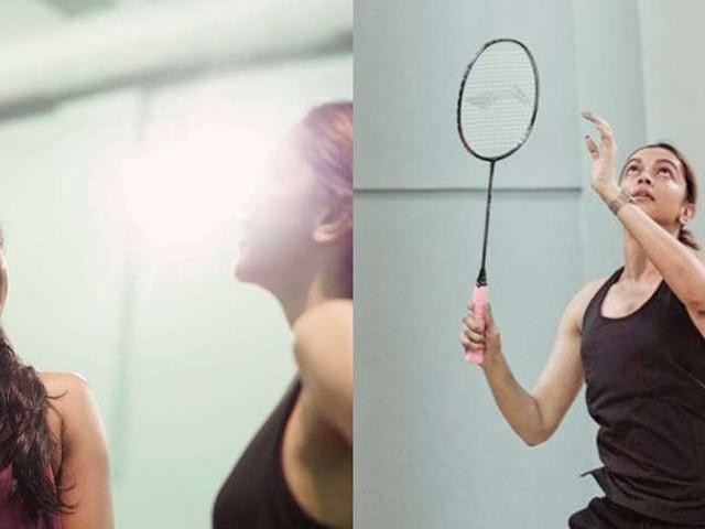 Deepika Padukone and PV Sindhuâs day on the badminton court