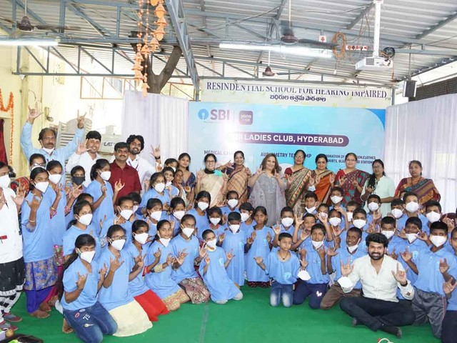 SBI Ladies Club organises medical camp in Hyderabad