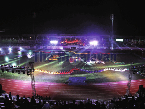 13th South Asian Games officially begins in Kathmandu