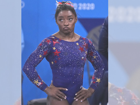 Olympics: Gymnast Simone Biles pulls out of Monday's floor exercise final