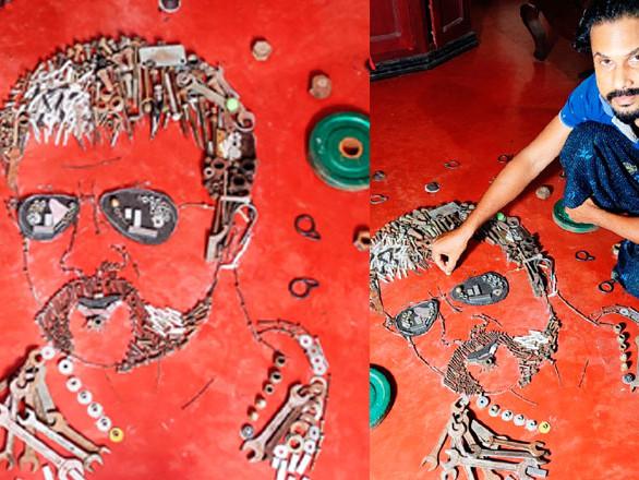 സ്പാനർ, സ്ക്രൂ, നട്ട് ബോൾട്ട് ഇത്രയും കിട്ടിയാൽ പ്രവീണിന്റെ ഇഷ്ടതാരം ജയസൂര്യയുടെ ഷാജിപ്പാന്റെ രൂപം റെഡി