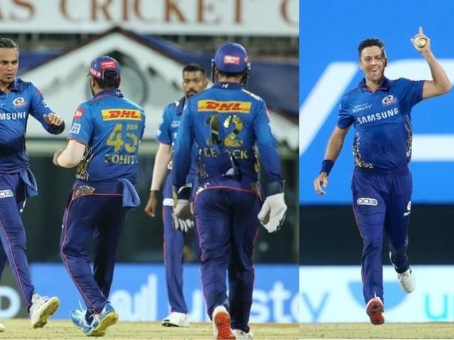 IPL 2021 कडव्या लढतीनंतर गोडवा; पाडव्याला MI नं उभारली विजयाची गुढी
