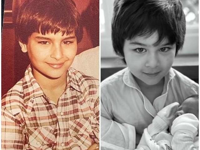 तैमूर अली खान हैं पूरी तरह पिता की फोटोकॉपी, सैफ अली खान की ये पुरानी तस्वीर है सबूत