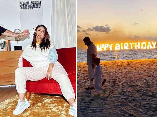 Kareena Kapoor Khan has a fiery birthday in the Maldives
