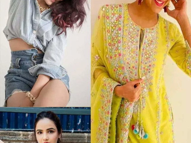 Looks to steal from Jasmin Bhasin's style book