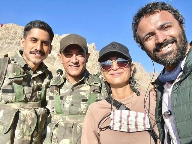 Aamir Khan किरण राव के साथ तलाक की घोषणा करने के बाद पहली बार आए साथ नजर, देखें वायरल तस्वीरें