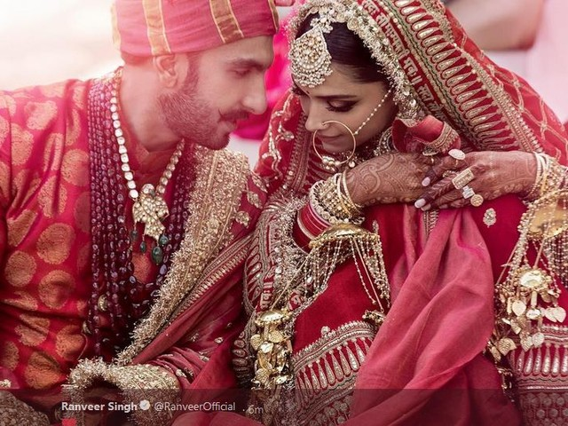 Bollywood stars Ranveer and Deepika tie the knot in Italy