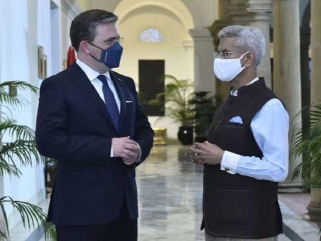 सर्बिया के विदेश मंत्री से एस जयशंकर की बातचीत, आर्थिक सहयोग बढ़ाने पर हुई चर्चा