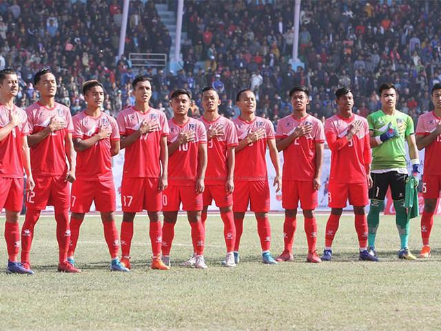 Nepal beat Bangladesh, reach final of men's football in SAG
