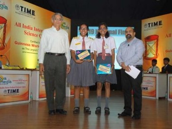 Hyderabad girls win Aqua Regia – Science Quiz