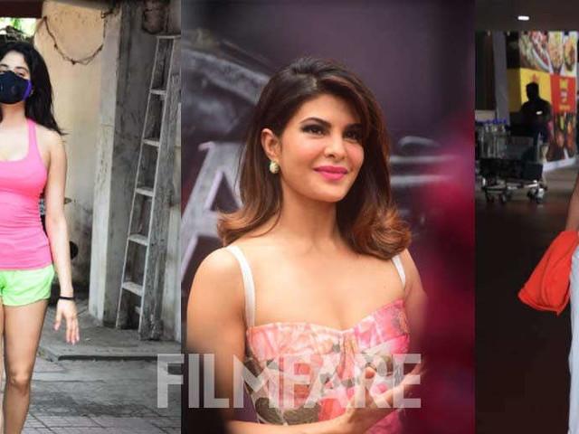 Pictures: Malaika Arora Janhvi Kapoor Jacqueline Fernandez clicked in the city