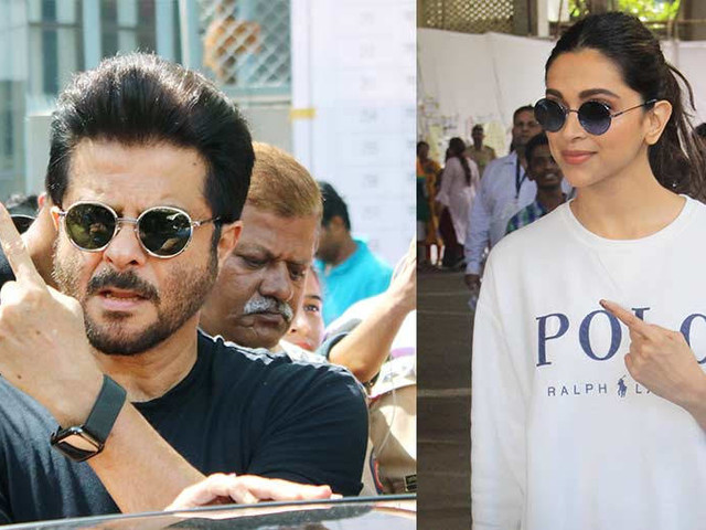 Deepika Padukone Anil Kapoor Hrithik Roshan and more step out to vote