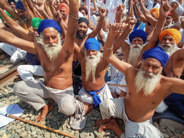 Opposition parties demand president's intervention for formation of JPC on farmer deaths