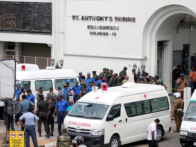 Update: Easter Day bombs kill 138 in attacks on Sri Lankan churches, hotels