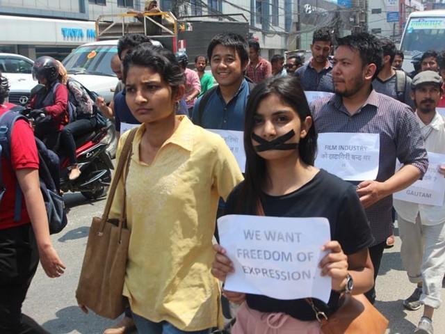 Rally held in capital demanding release of comedian Pranesh Gautam