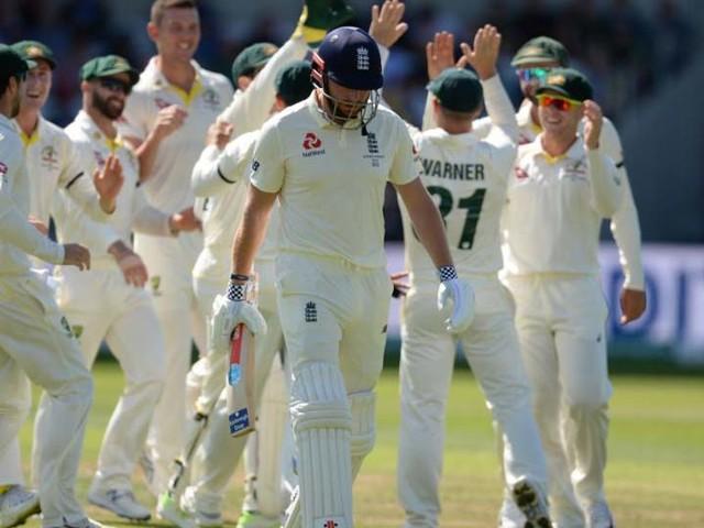 Ashes 2019 : हेजलवूडच्या माऱ्यासमोर इंग्लंड अवघ्या 67 धावांत गारद