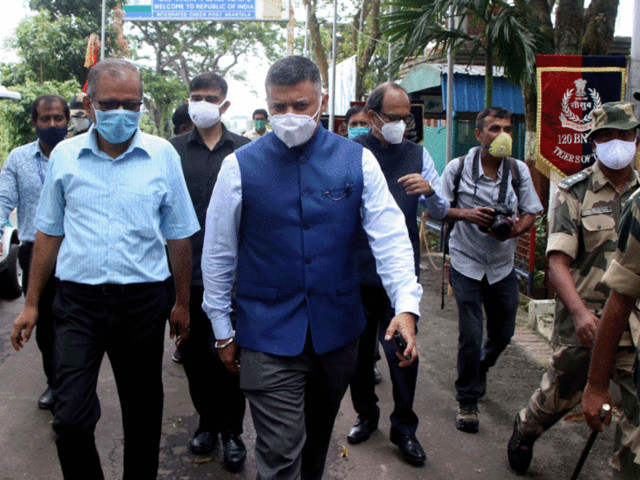 India's new envoy to Dhaka launches his innings with focus on vaccine diplomacy & connectivity links