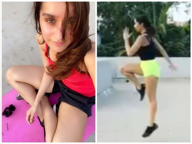 Pics: Shraddha gives major fitness goals