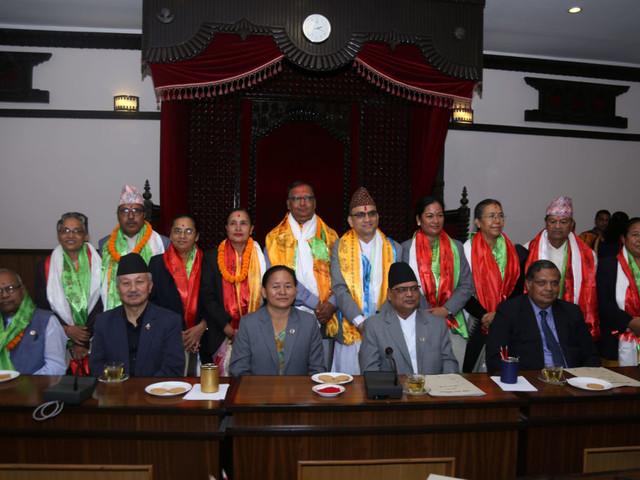 HoR committees' leaders elected, sworn-in