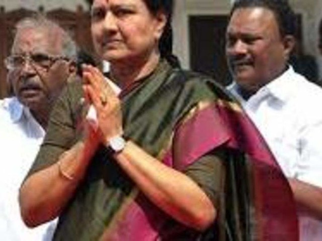 VK Sasikala hospitalised ahead of scheduled release