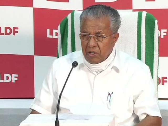 केरल के बाढ़ग्रस्त इलाकों में फंसे लोगों को निकालने के लिए सभी उपायों का होगा इस्तेमाल- मुख्यमंत्री
