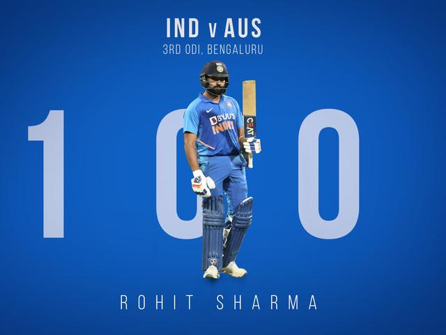 INDvsAUS : 'शर्माजी का बेटा छा गया'; रोहितने शतकी खेळीत केले 5 विक्रम!