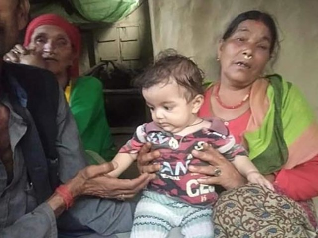 Children distraught as their mother dies from snakebite in Kailali
