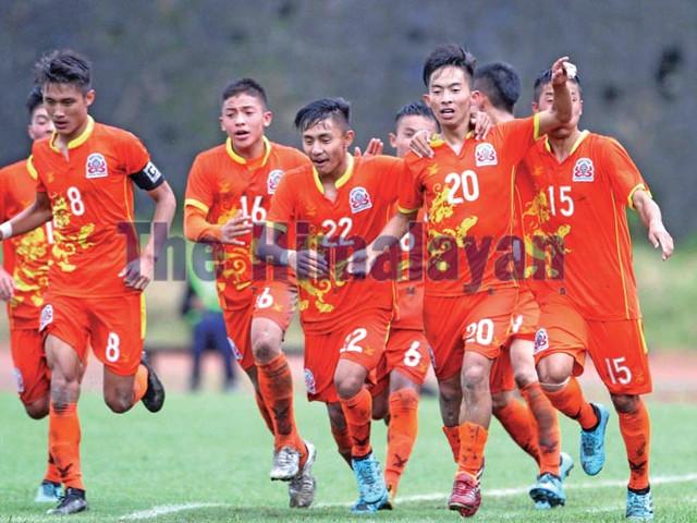 Bhutan stun Nepal, enter semi-finals